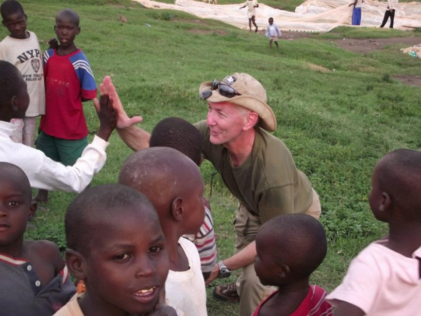 Barry in Kenya 2011